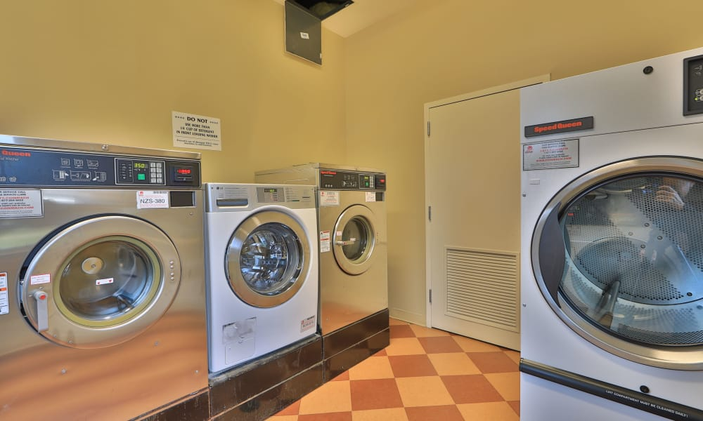 Laundry facility at The Preserve at Owings Crossing Apartment Homes in Reisterstown, Maryland