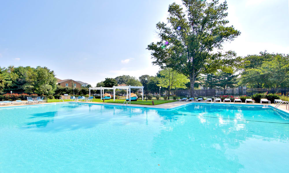 Pool at Chesapeake Glen Apartment Homes in Glen Burnie, MD