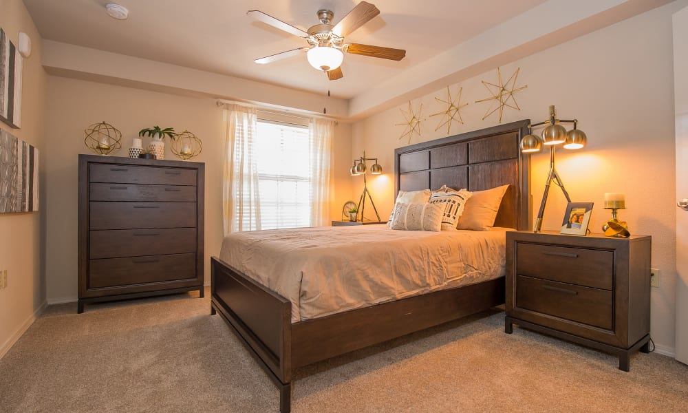 Beautiful bedroom at Watercress Apartments in Maize, Kansas