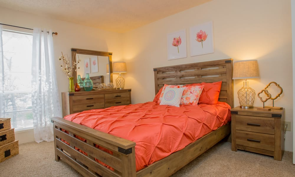 Bedroom at Country Hollow in Tulsa, Oklahoma