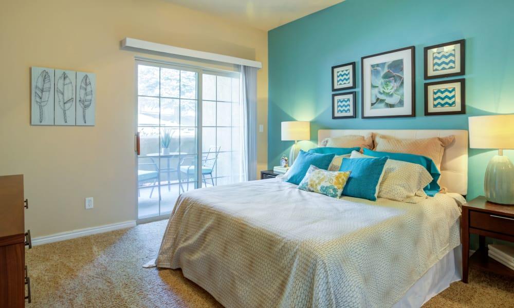 Bedroom at Resort at University Park in Colorado Springs, Colorado