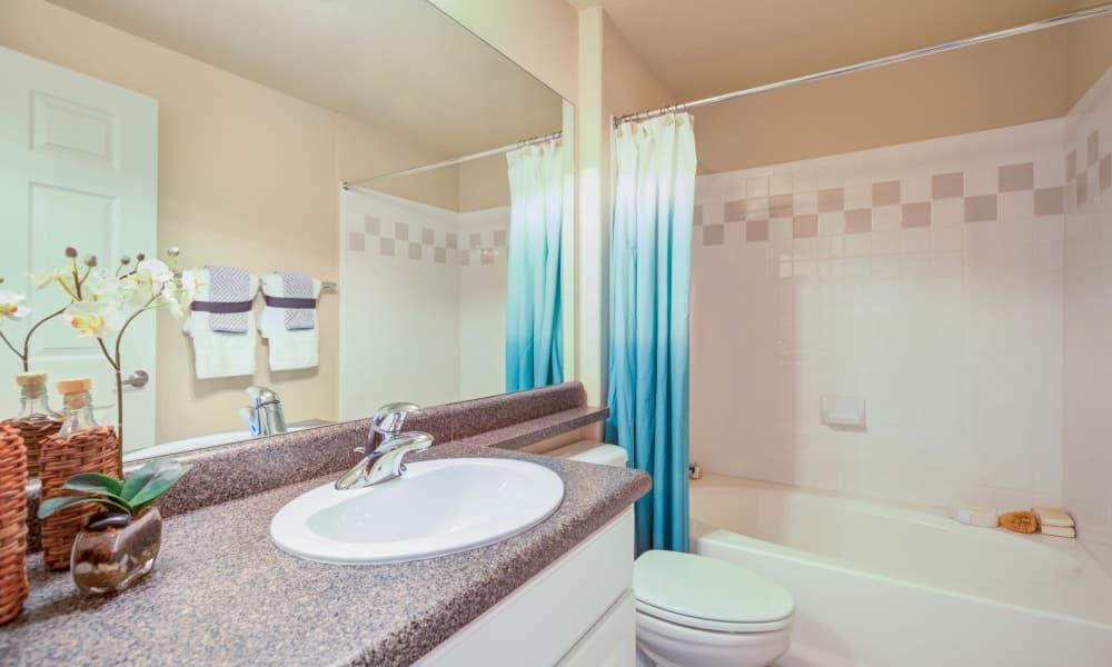 Bathroom at Resort at University Park in Colorado Springs, Colorado