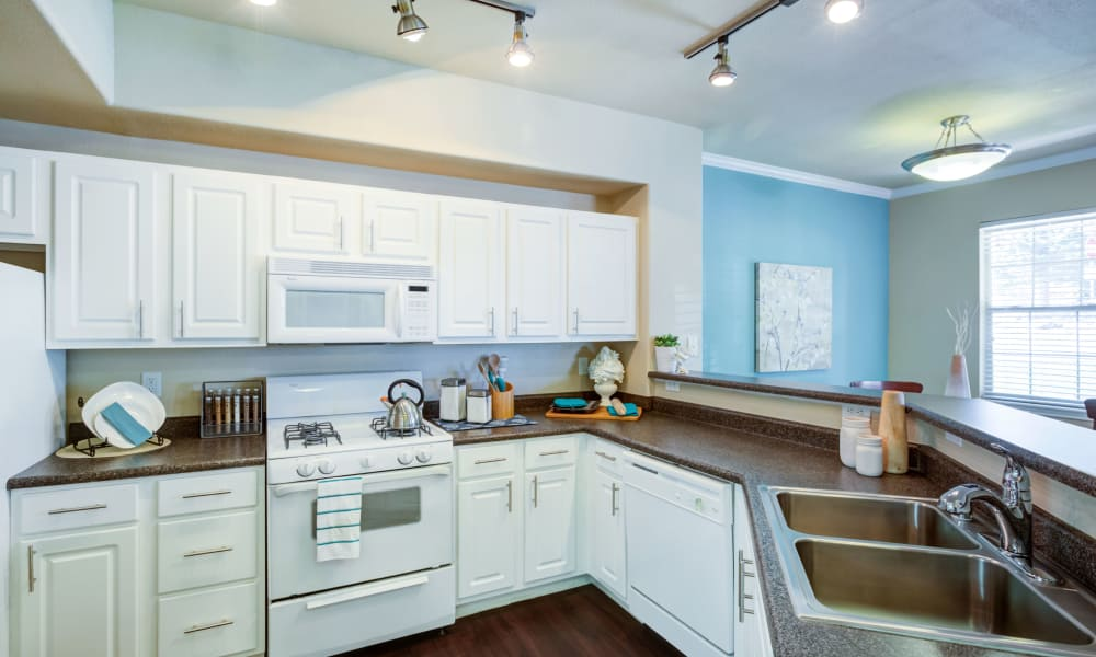 Kitchen at Resort at University Park in Colorado Springs, Colorado