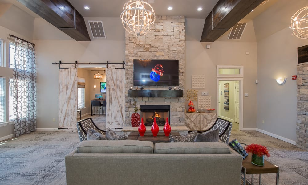 The Park on Westpointe offers a luxury clubhouse in Yukon, Oklahoma