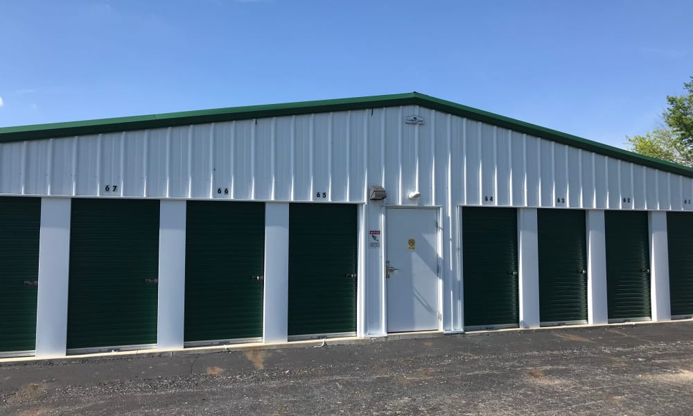 Storage units available at New Albany Self Storage in New Albany, Ohio