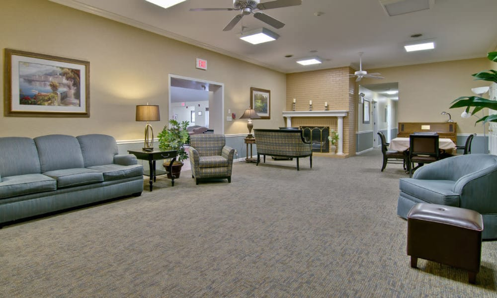 Large communal area at The Arbors at Parkside in Rolla, Missouri