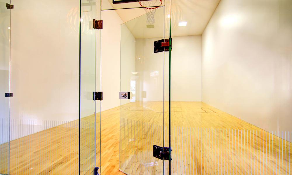 Raquetball at Keystone Apartments in Northglenn, Colorado
