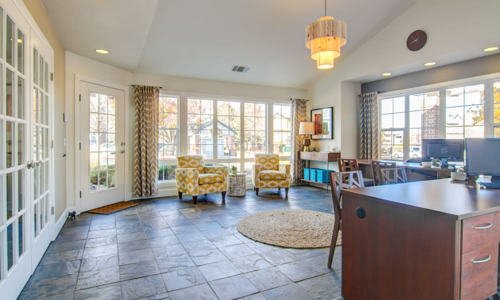 Clubhouse at Keystone Apartments in Northglenn, Colorado