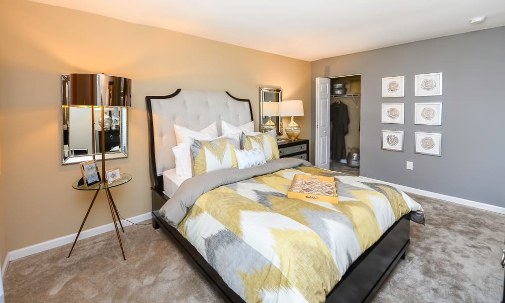 Beautiful Bedroom at Montgomery Manor Apartments & Townhomes in Hatfield, Pennsylvania