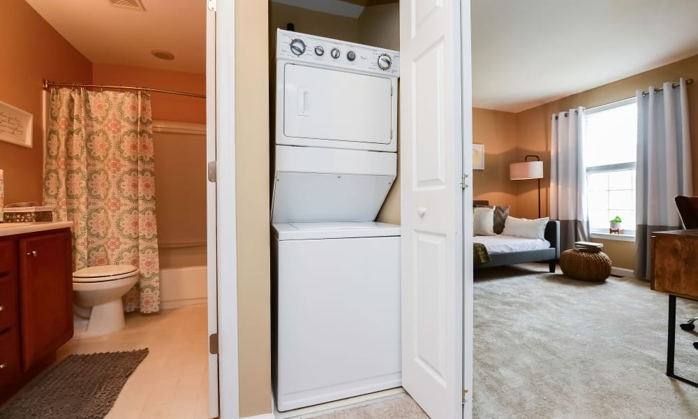 Montgomery Manor Apartments & Townhomes in Hatfield, Pennsylvania offers Apartments with a Washer/Dryer