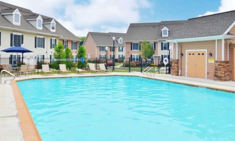 Enjoy Apartments with a Swimming Pool at Montgomery Manor Apartments & Townhomes