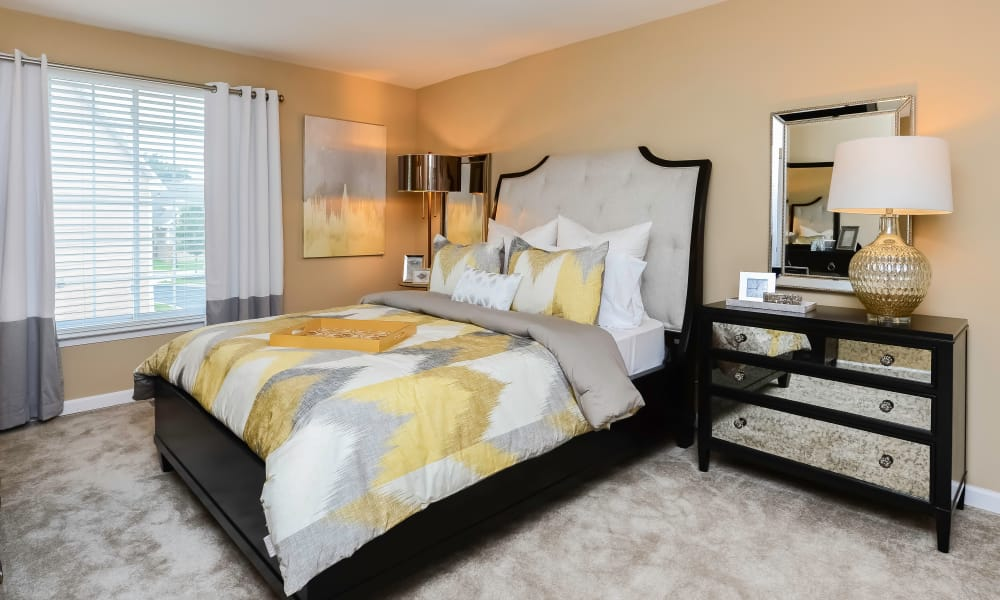 Bedroom at Apartments in Hatfield, Pennsylvania