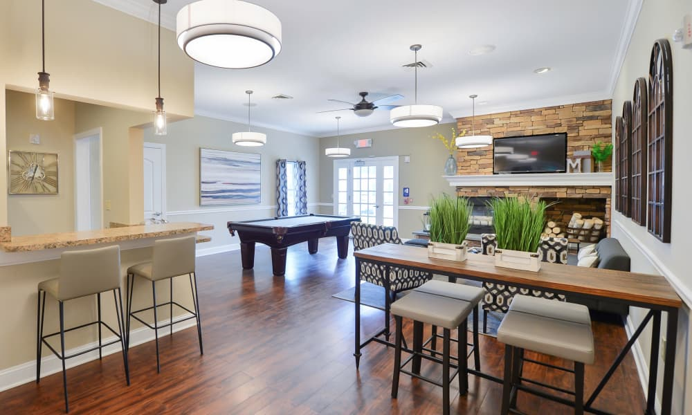 Clubhouse at Montgomery Manor Apartments & Townhomes in Hatfield, Pennsylvania