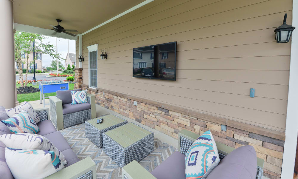 Our Apartments in Hatfield, Pennsylvania offer an Outdoor Lounge