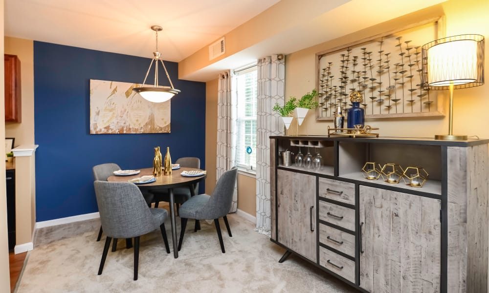 Dining Area at Montgomery Manor Apartments & Townhomes in Hatfield, Pennsylvania