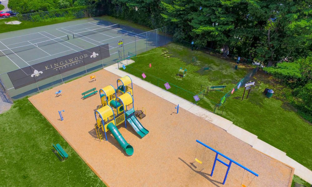 Our Apartments in King of Prussia, Pennsylvania offer a Tennis Court & Playground