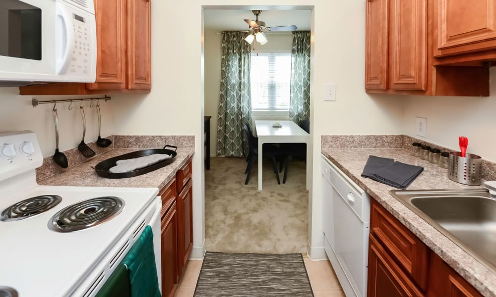 Kitchen at Apartments in King of Prussia, Pennsylvania