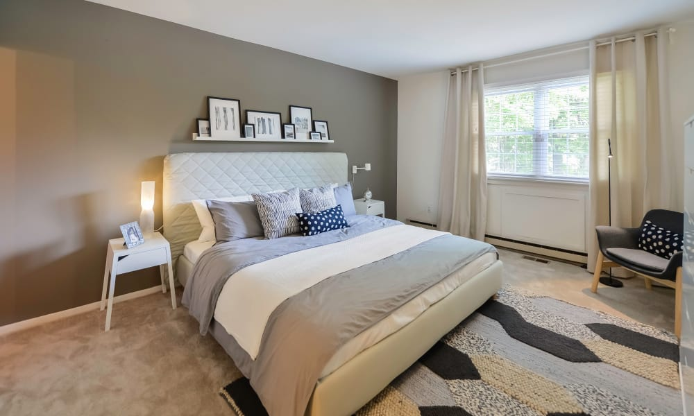 Bedroom at Apartments in King of Prussia, Pennsylvania