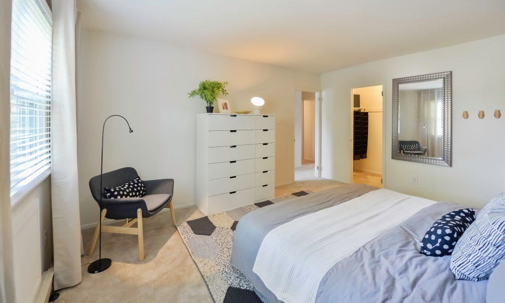Beautiful Bedroom at Kingswood Apartments & Townhomes in King of Prussia, Pennsylvania