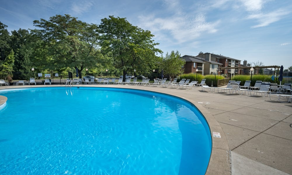 Enjoy Apartments with a Swimming Pool at Hidden Lakes Apartment Homes