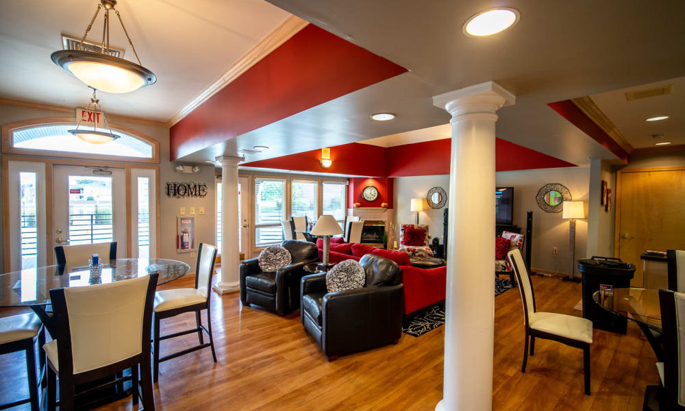 Clubhouse at Hidden Lakes Apartment Homes in Miamisburg, Ohio