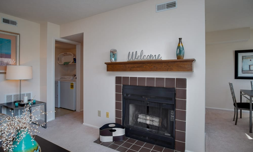 Apartments with a Fireplace in Miamisburg, Ohio