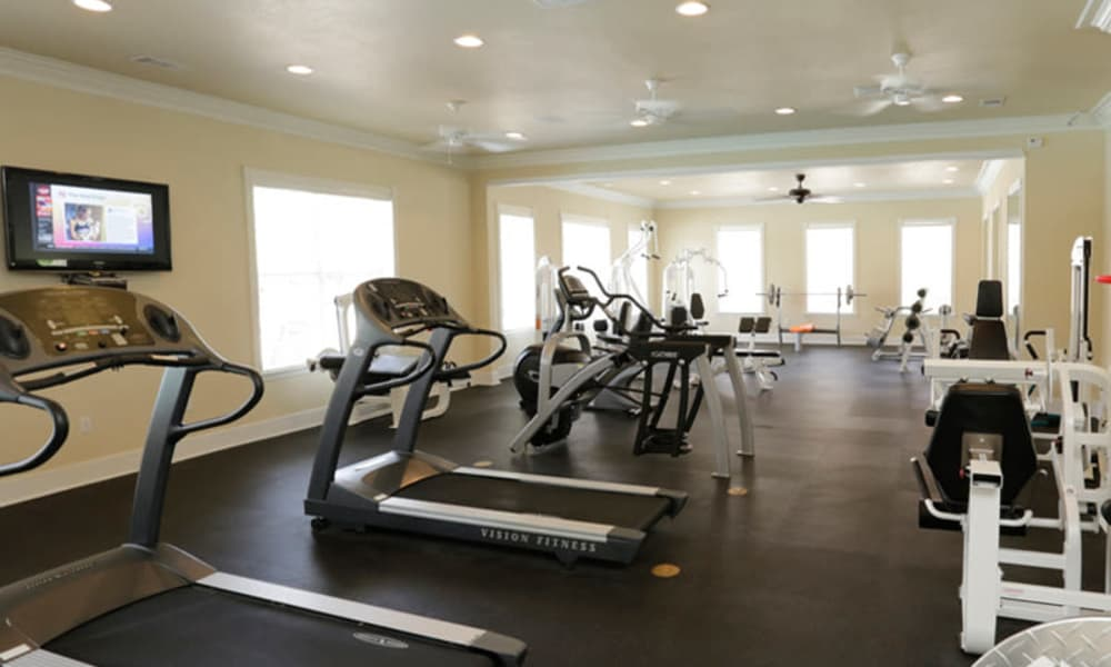 Work out with us at Lexington Park Apartment Homes in North Little Rock, Arkansas