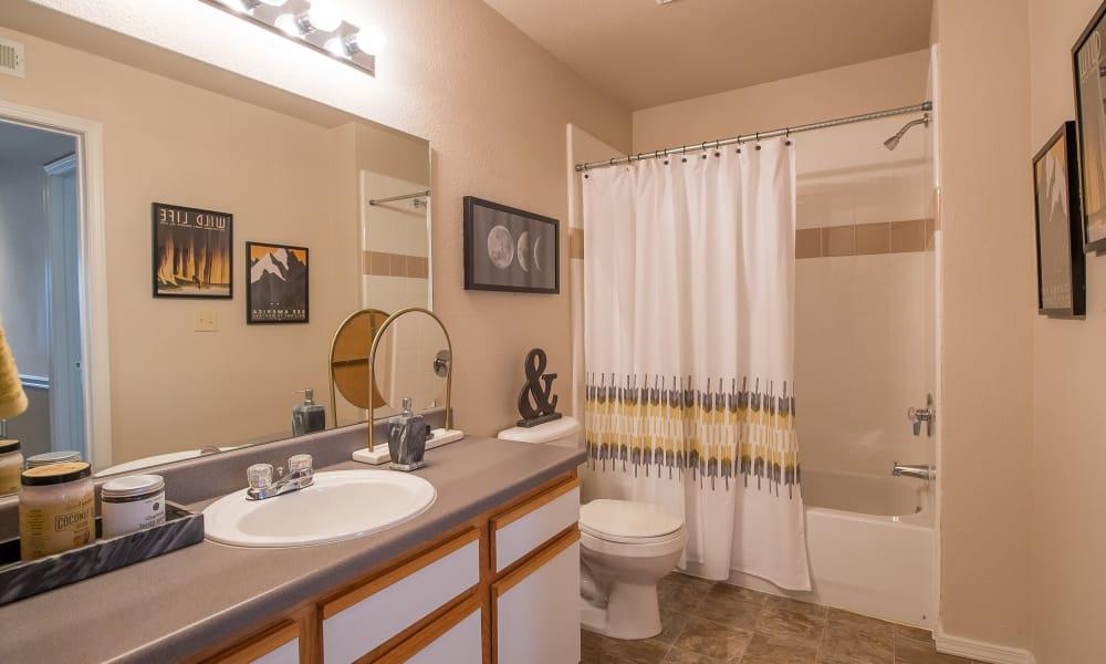 Bathroom at Newport Wichita in Wichita, Kansas