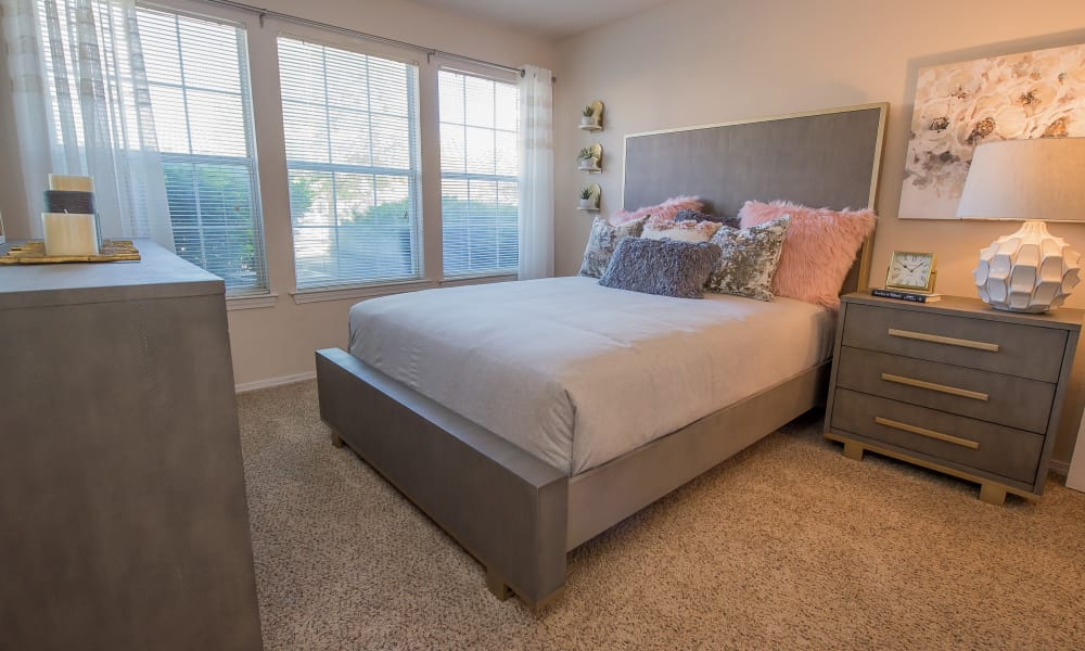 Large bedroom with a view at Newport Wichita in Wichita, Kansas