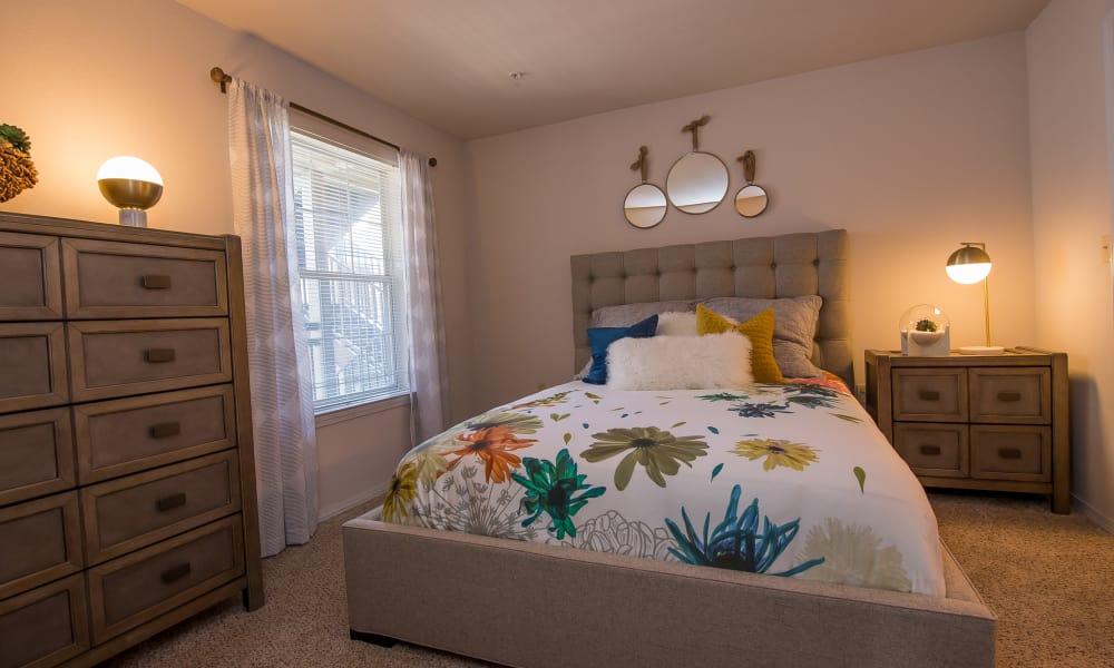 Spacious bedroom at Newport Wichita in Wichita, Kansas