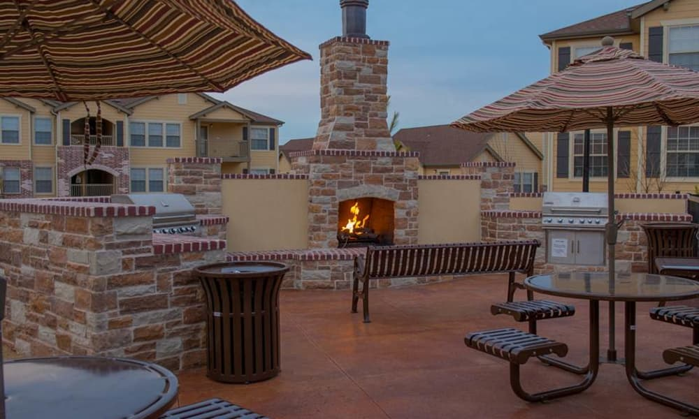 Park at Coulter's outdoor grilling areas in Amarillo, Texas