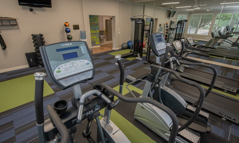The community gym at Prairie Springs in Oklahoma City, Oklahoma
