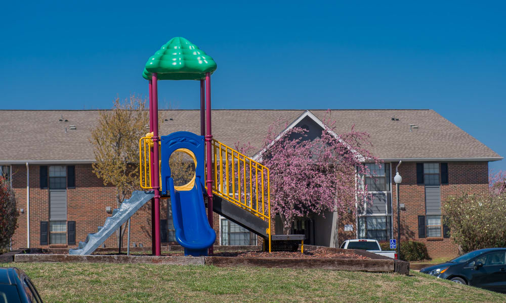 Onsite playground at The Greens of Bedford in Tulsa, Oklahoma