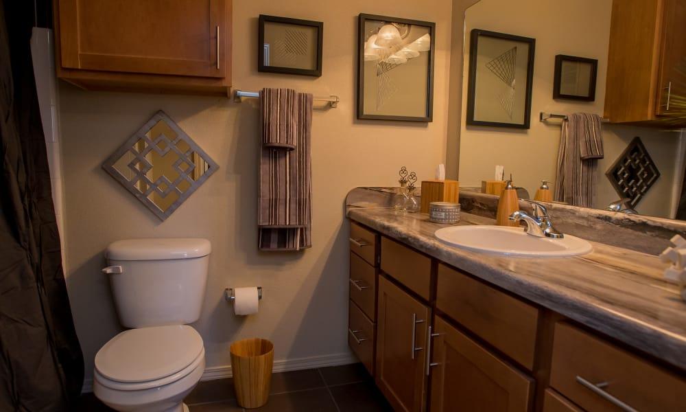 Bathroom at Villas at Canyon Ranch in Yukon, Oklahoma
