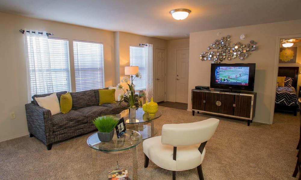 Living room at Villas at Canyon Ranch in Yukon, Oklahoma