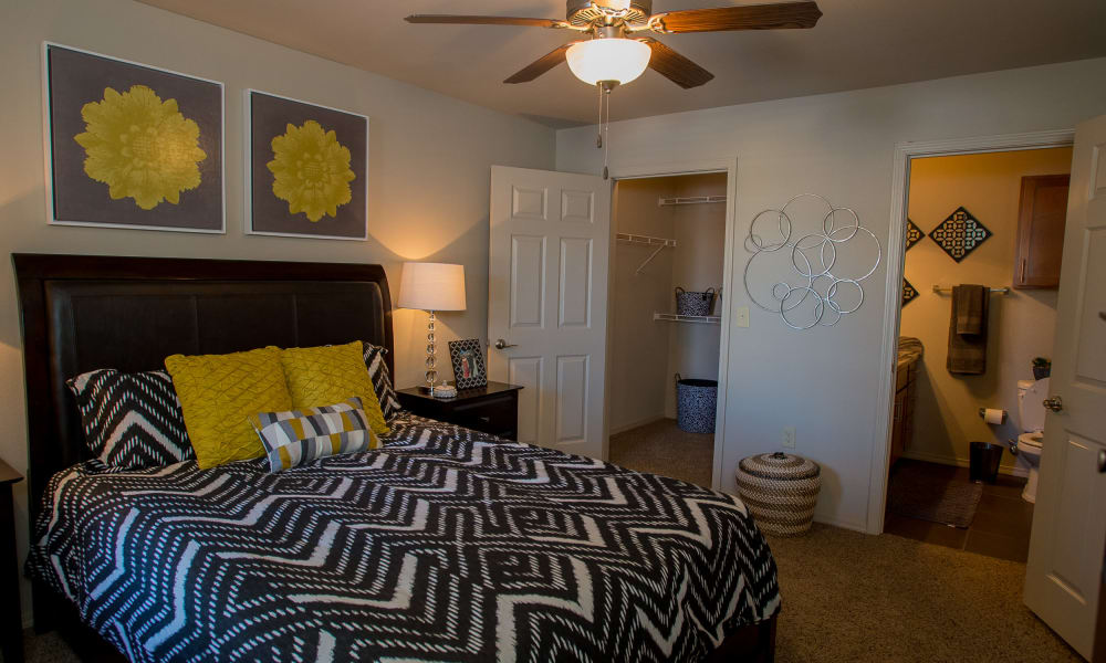 Bedroom at Villas at Canyon Ranch in Yukon, Oklahoma