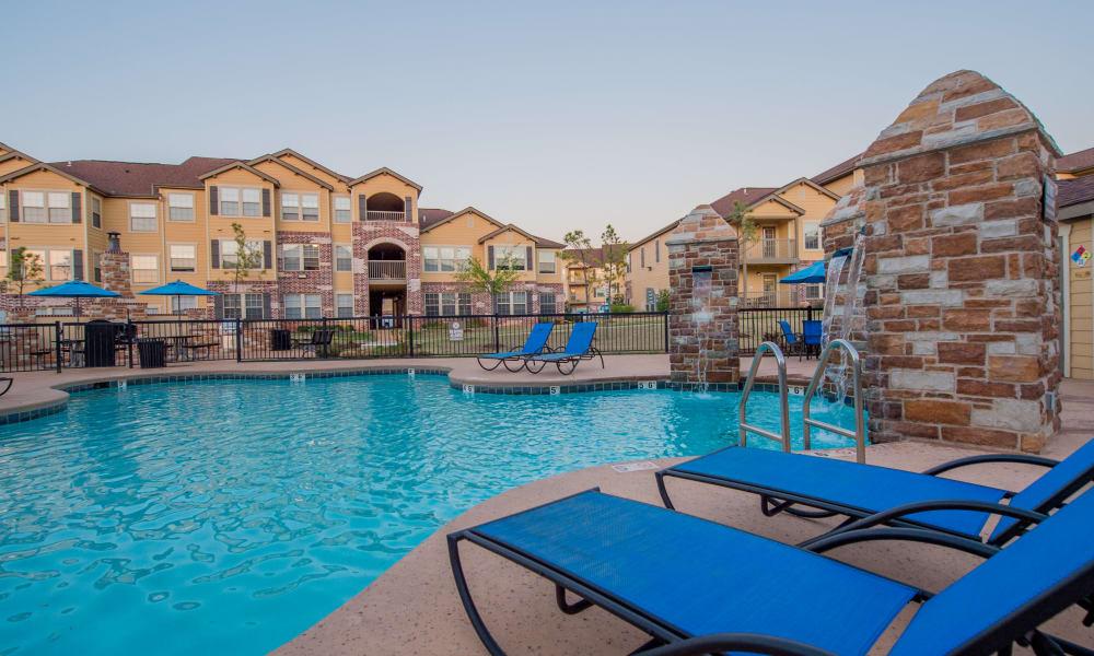 Resort style pool at Villas at Canyon Ranch in Yukon, Oklahoma