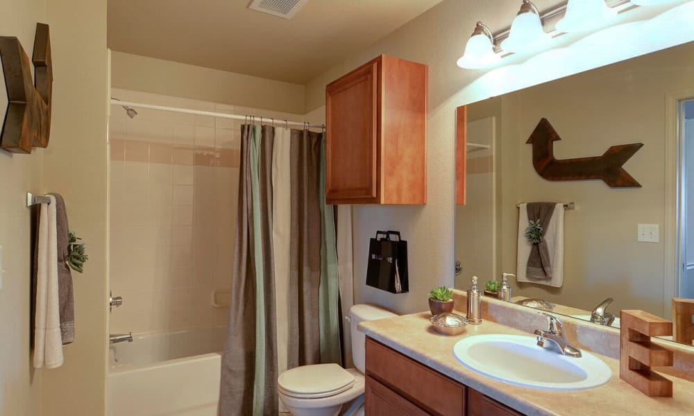 Bathroom at Colonies at Hillside in Amarillo, Texas