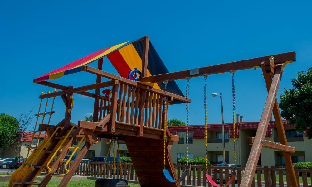 Playground at Council Place Apartments in Oklahoma City, Oklahoma