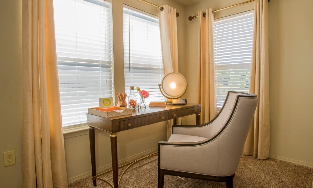 Office area at Icon at Broken Arrow in Broken Arrow, Oklahoma