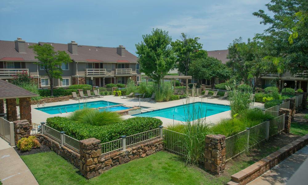 The pool at Chardonnay in Tulsa, OK