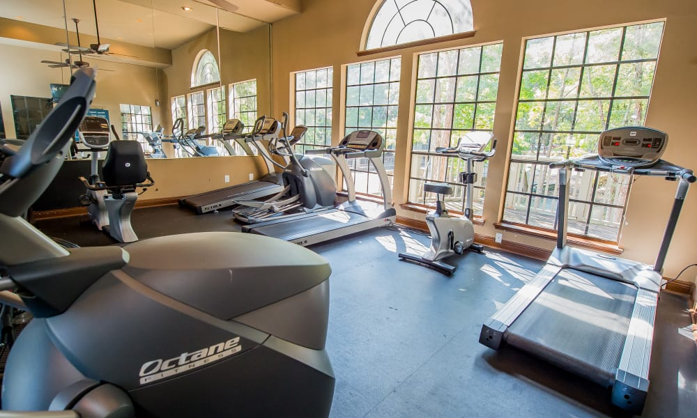 State-of-the-art fitness center at The Trace of Ridgeland in Ridgeland, Mississippi