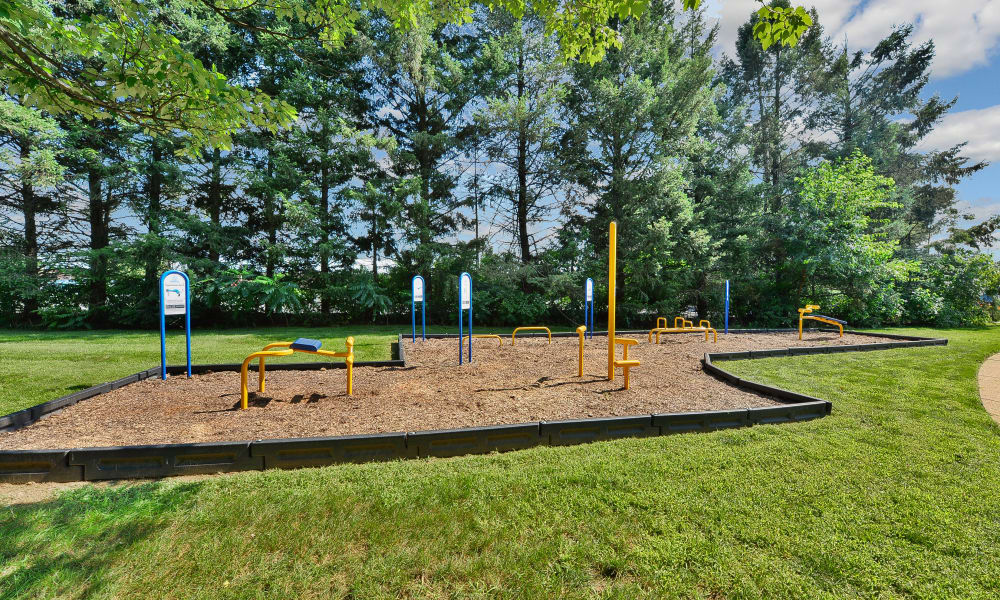 Our Apartments in Camp Hill, Pennsylvania offer an Outdoor Fitness Area
