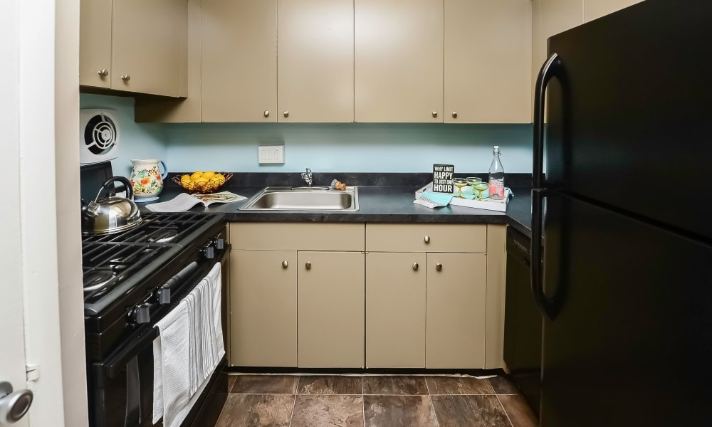 Kitchen at Camp Hill Apartment Homes in Camp Hill, Pennsylvania
