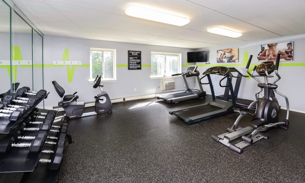 Our Apartments in Camp Hill, Pennsylvania offer a Gym