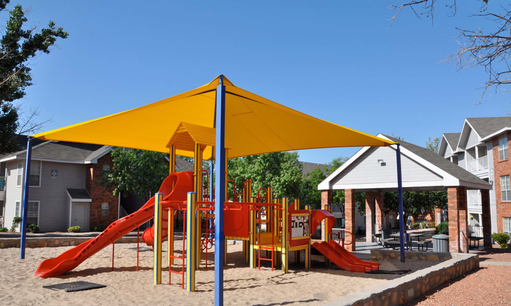 Playground at Shadow Ridge Apartments in El Paso, Texas