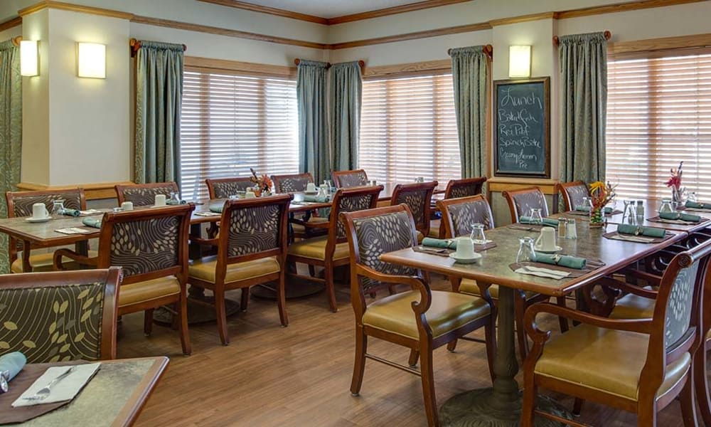 Accessible kitchen area at Waldron Place Senior Living in Hutchinson, Kansas