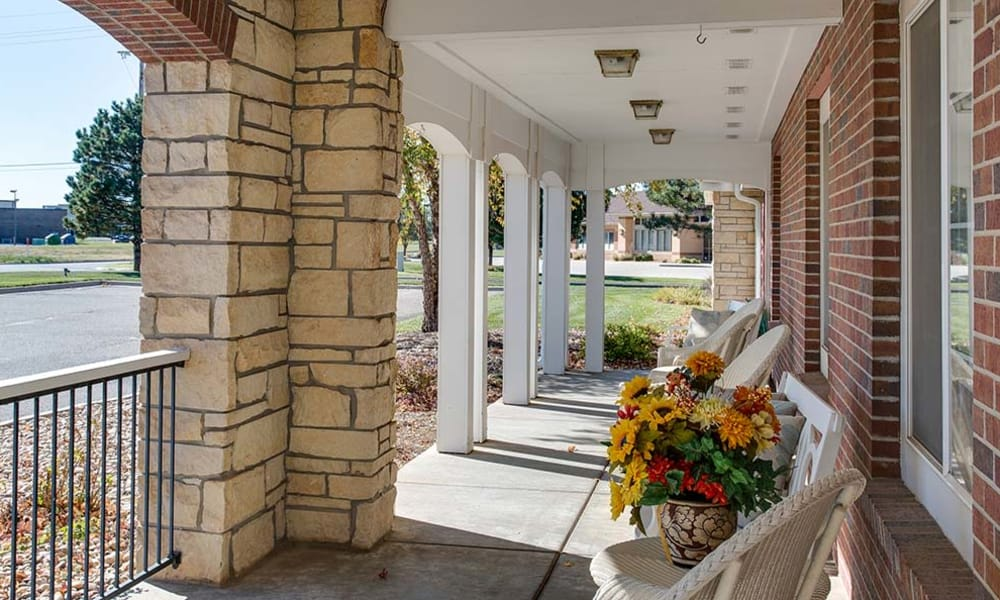 Main building at Waldron Place Senior Living in Hutchinson, Kansas