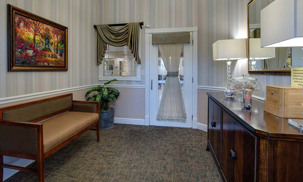 A room for Memory Care residents at Parkwood Meadows Senior Living community in Sainte Genevieve, Missouri