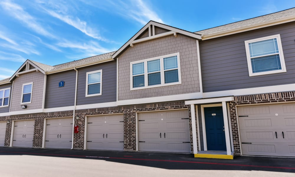 Cottages at Abbey Glen Apartments offers a garages with select units in Lubbock, Texas